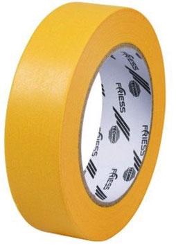 Washi-Tape 25mmx50m gelb FRIESS