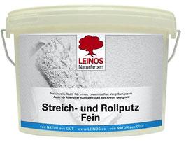 Streich- und Rollputz FEIN LEINOS