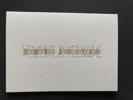 Falzkarte Trauer (moderne Ausführungen)