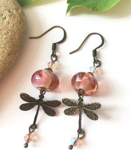 Boucles d'oreilles Anaïs - Plusieurs coloris disponibles
