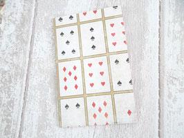 Pochette as de coeur pour bon cadeau joueurs de cartes