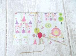 Enveloppe cadeau Fée et princesse effet paillettes pour faire un bon cadeau