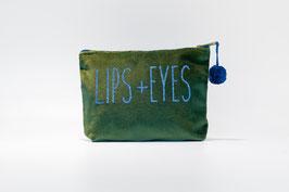 Kosmetiktasche LIPS+EYES