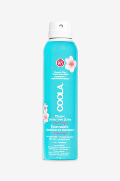 COOLA CLASSIC BODY ORGANIC SUNSCREEN SPRAY GUAVE MANGO ODER UNSCENTED SPF50