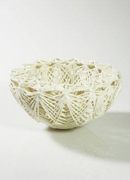 Doppelwand- Schale mit geometrischem Muster