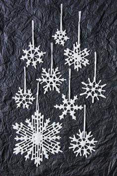 Schnee-Kristalle