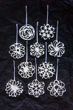 Porzellan- Blüten