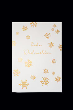 Postkarte - Frohe Weihnachten