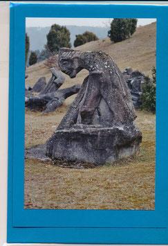 Seelenfaltkarte mit Kuvert Titel: Figurenfeld