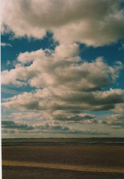 Fotografie mit dem Titel: Himmel trifft Strand