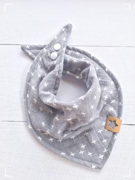 Dreieckstuch für Babies aus Musselinstoff zweiseitig tragbar