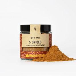 5 Spices Wokgewürz Bio