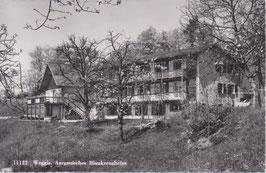 Postkarte Weggis Aargauisches Blaukreuzheim