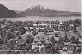 Postkarte Weggis Ferienheim Co-op