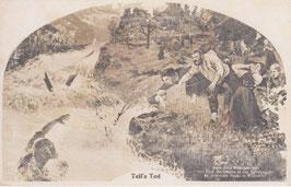 Postkarte Küssnacht Tell's Tod