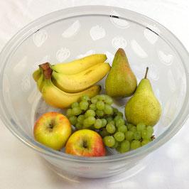 Bullaugenschüssel XXL Früchte