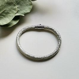 Bunte Kabel Armband weiß