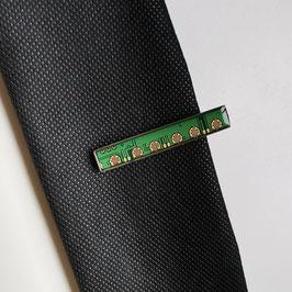 Leiterplatte Krawattennadel grün