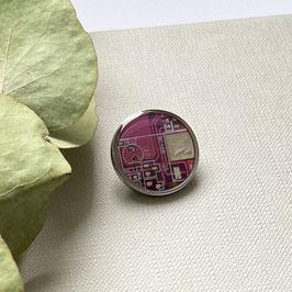 Distanzring Pin mit violetter Leiterplatte klein