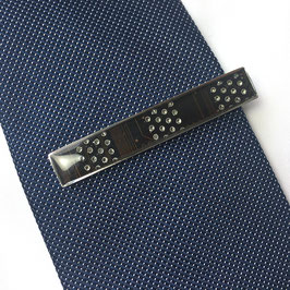 Krawattennadel braun 1