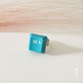 ***SALE***   Tastatur Ring blau