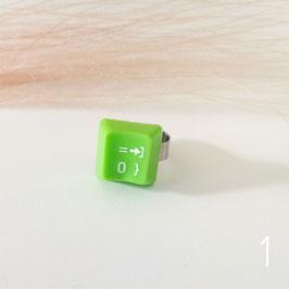 ***SALE***   Tastatur Ring grün