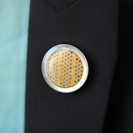 Distanzring Pin mit senffarbener Leiterplatte