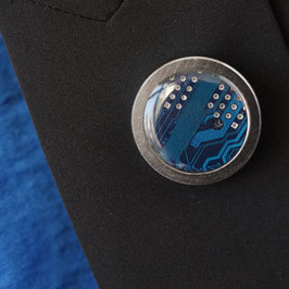Distanzring Pin mit blauer Leiterplatte