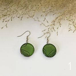 Drops Ohrringe grün