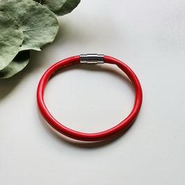 Bunte Kabel Armband rot