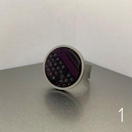 ***SALE***   Distanzring mit einer violetten Leiterplatte