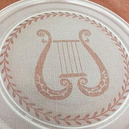Mikrowellenteller Harfe