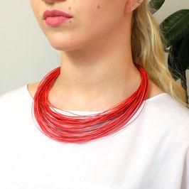 Bunte Drähte Halskette Sommer