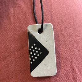 Leiterplatten Halskette rechteckig