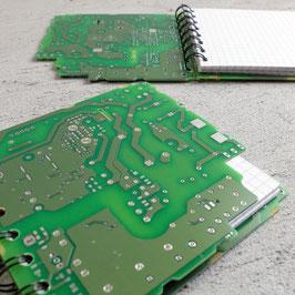 Leiterplatte Notizbuch gezackt