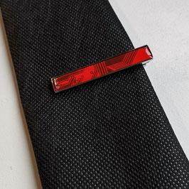 Leiterplatte Krawattennadel rot