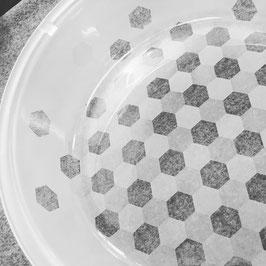 Bullaugenschüssel Hexagon WM
