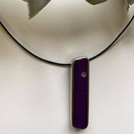 Sub-D Halskette violett