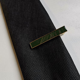 Leiterplatte Krawattennadel dunkelgrün
