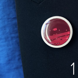 Distanzring Pin mit roter Leiterplatte