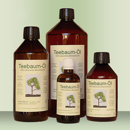 Teebaum-Öl,  100% reines ätherisches Öl, Indien, China