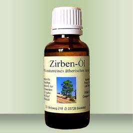 Zirben-Öl (Arven-Öl) 100% naturreines ätherisches Öl