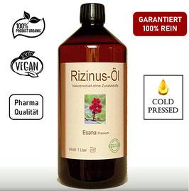 Rizinusöl nativ / kalt gepresst (Pharma-Qualität)