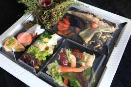 Plateau repas prestige poisson