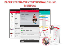 PACK ENTRENAMIENTO PERSONAL ONLINE MENSUAL