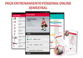 PACK ENTRENAMIENTO PERSONAL ONLINE SEMESTRAL