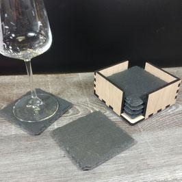 Glasuntersetzer-Set 6 Stk.