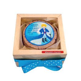 BISCOTTI ARTISTICI-  PICCOLO PRINCIPE- Box 6 biscotti