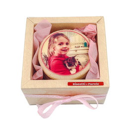 BOX BiscoFOTO 6 BISCOTTI - 1 FOTO