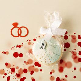 Biscotto bomboniera  7,5 cm